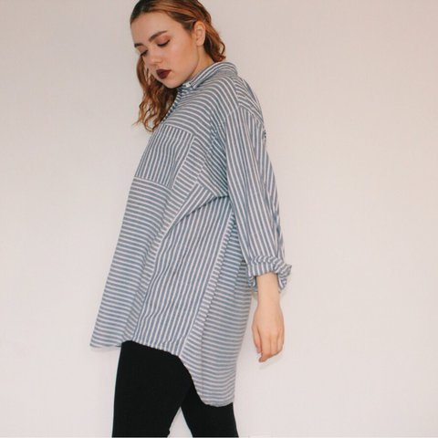 1df59a6f00 @sarahmaberry. last year. Seattle, United States. Striped Madewell long  sleeve ...