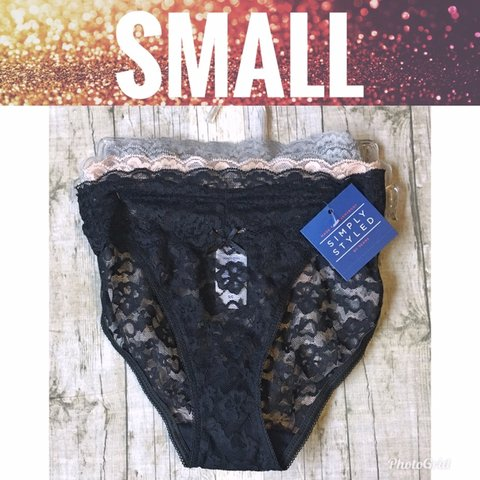 673d8ddcf2a Sheer Lace Panties Welcome to my shop! You re probably here - Depop