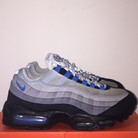 more photos a1e14 7023f  cianwalder7. 11 months ago. Huddersfield, United Kingdom. Nike Air Max 95  - Blue Spark ...