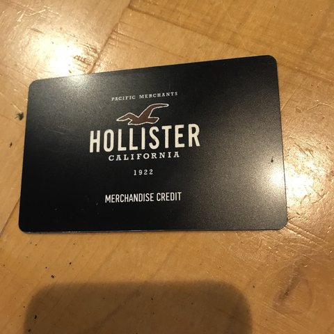 Hollister gift card $103 store- 0