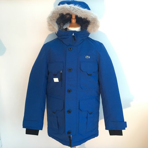 0d9b82394a @everydaydesigners. last year. Leicester, UK. Unisex Lacoste Live Quilted  Parka ...