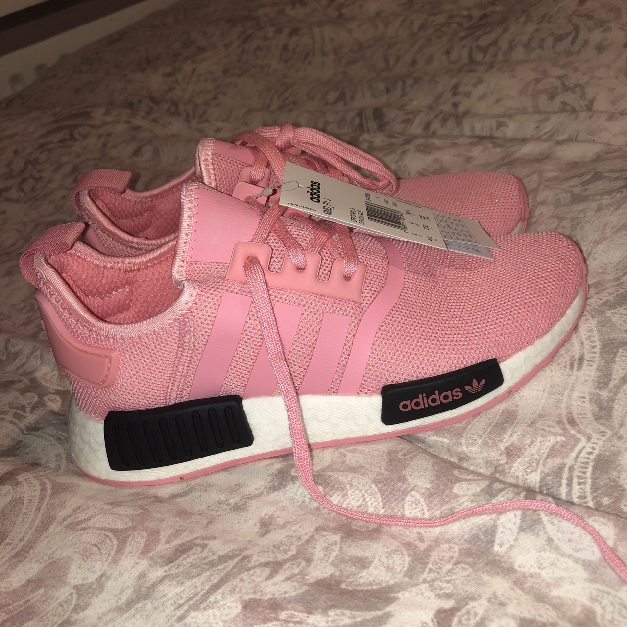 adidas originals nmd r1 pink and black