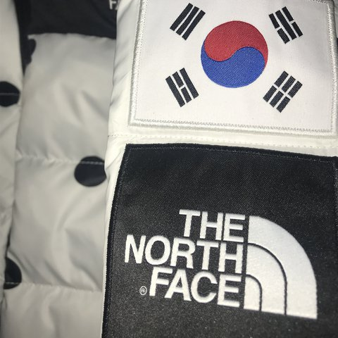 214f9274d8 off north face ic korea nuptse jacket xs new with for depop famous ...