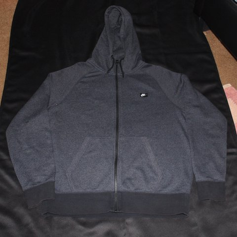 2e4b4260d942 Nike AW77 Full Zip Hoodie Sweater Blue Men s size Large - Depop