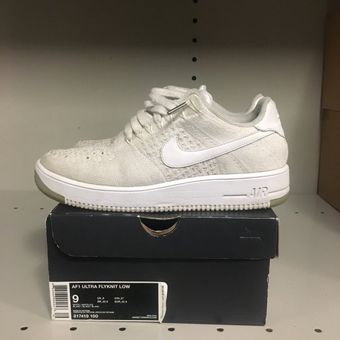 buy online ad00c 4d3cd  bryantlq. 10 months ago. Los Angeles, United States. Nike Air Force 1 (AF1)  Ultra Flyknit White Mens size 9