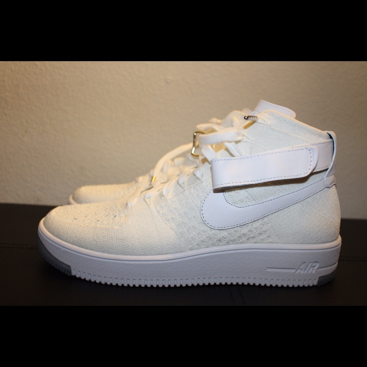 Nike 1 Air Can Force Ultra Midstraps Depop Flyknit Af1 kiOTluPZwX