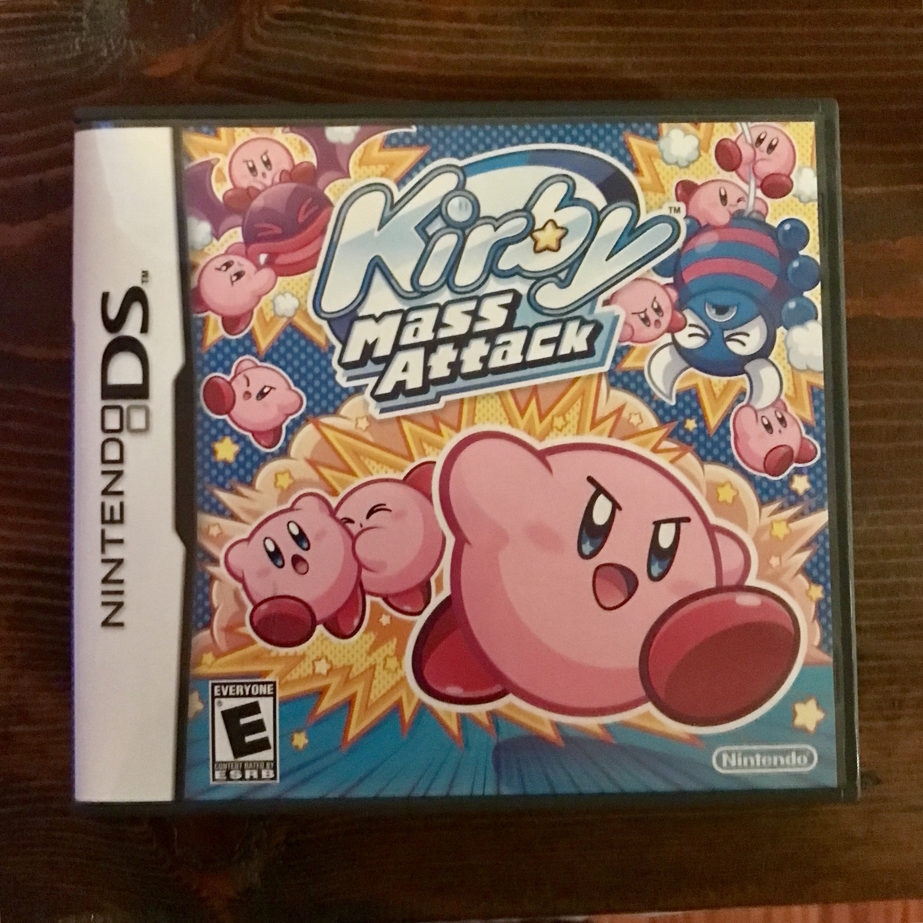 Nintendo DS KIRBY MASS ATTACK  Used but in excellent