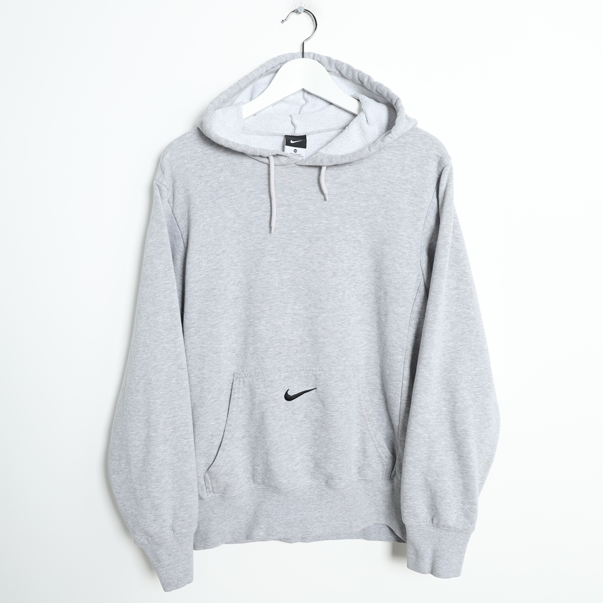 official store great quality offer discounts Vintage Nike Central Pocket Logo Hoodie... - Depop