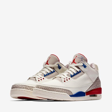 "bf8fd475a040 Air jordan 3 ""international flight "" charity game .. !! SOLD - Depop"