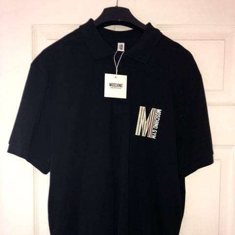 297edd57 Moschino GYM Polo BRAND NEW with Tags Colour: Black Size: - Depop