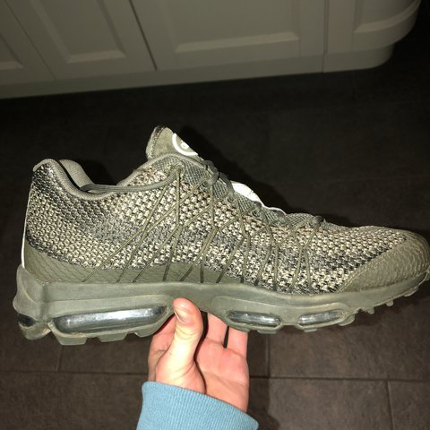 6a54f991a8 Nike Air Max 95 Ultra Jacquard, Size 9, worn twice, selling - Depop
