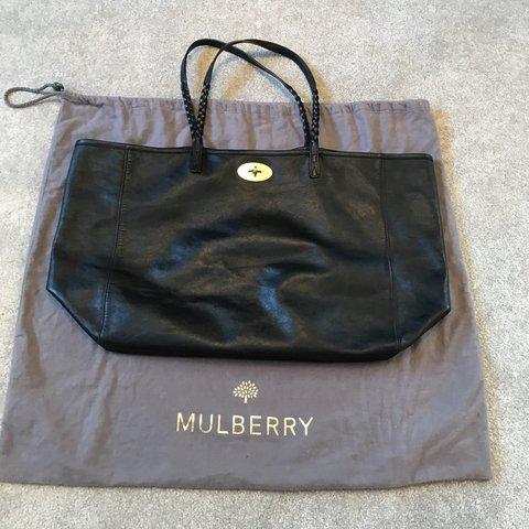 846ff877269a 100% AUTHENTIC MULBERRY TOTE BAG IN BLACK WOTH DUST BAG . IS - Depop
