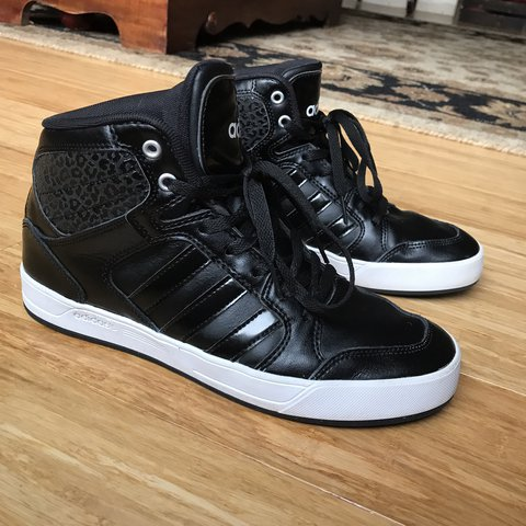 wholesale dealer 7a3c0 951f8 ... clearance adidas womens neo raleigh high top sneaker barely worn for  depop 322ab 93461