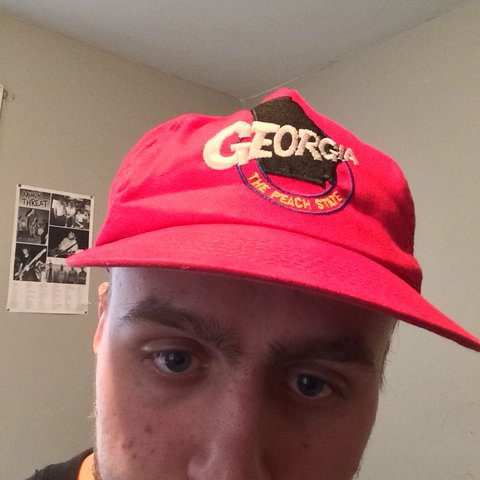 VINTAGE STATE OF GEORGIA HAT great condition!!! Very and - Depop 86422795088