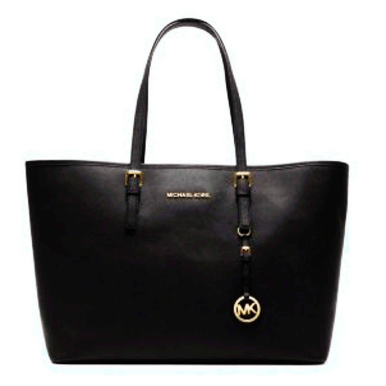 50d962df08a5 @eimearwoulfe. 3 years ago. Ireland. Michael Kors Large Black Jet Set  Travel Tote.
