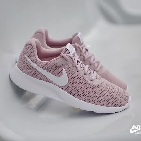 f62f34bdf7ad Rose Pink Nike Tanjun. Worn Once. I m excellent condition. - Depop