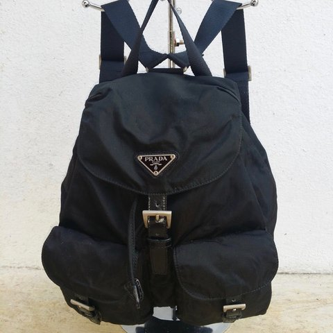 722d6b81bfd2be ... clearance authentic prada nylon backpack in medium size still in depop  5e72c c5a11
