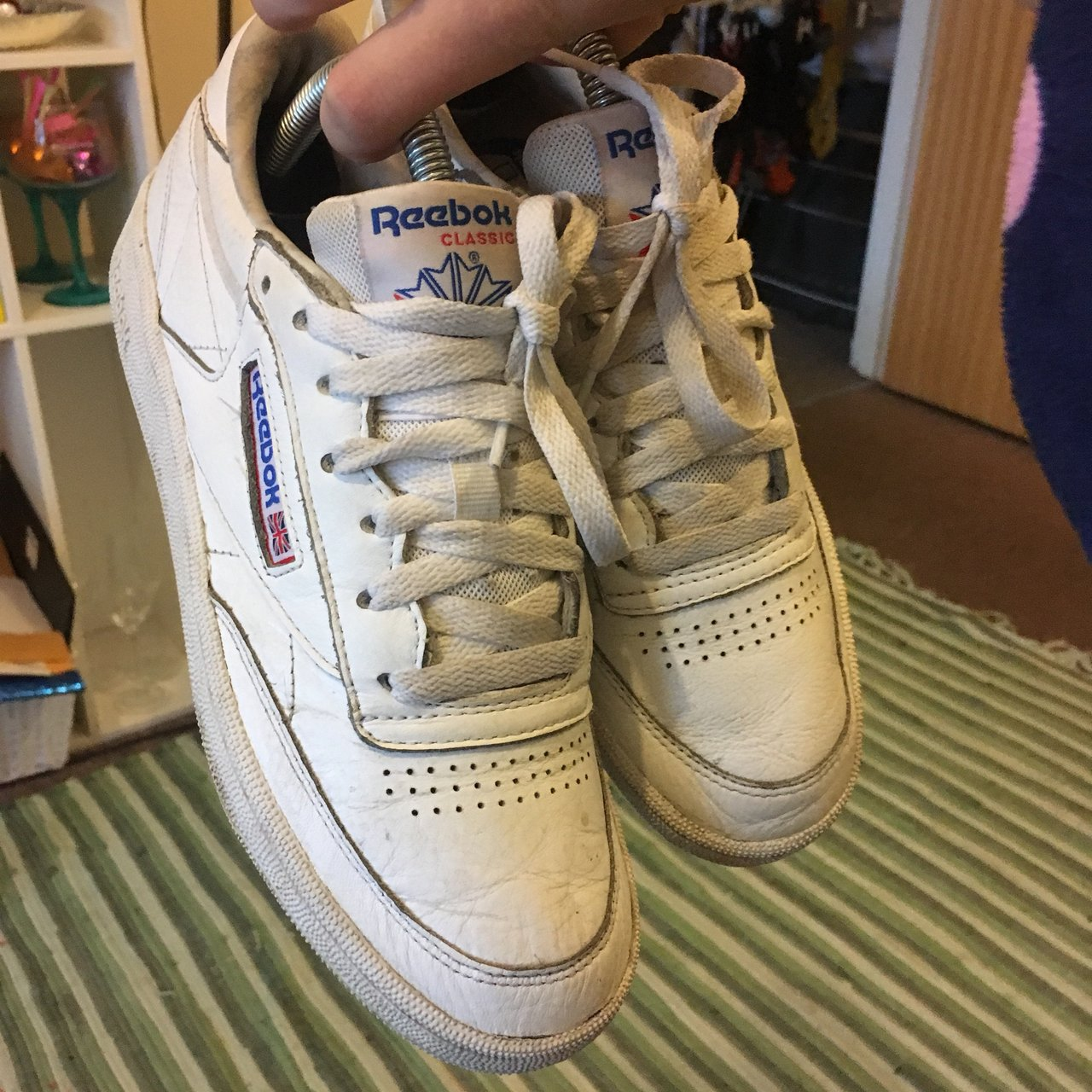 2bded777c72 SELLING CHEAP - Price includes postage 😱 Reebok women s c - Depop