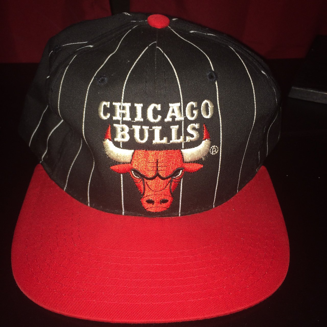 AUTHENTIC CHICAGO BULLS STARTER SNAPBACK. HAT IS IN - Depop c4e4310d542