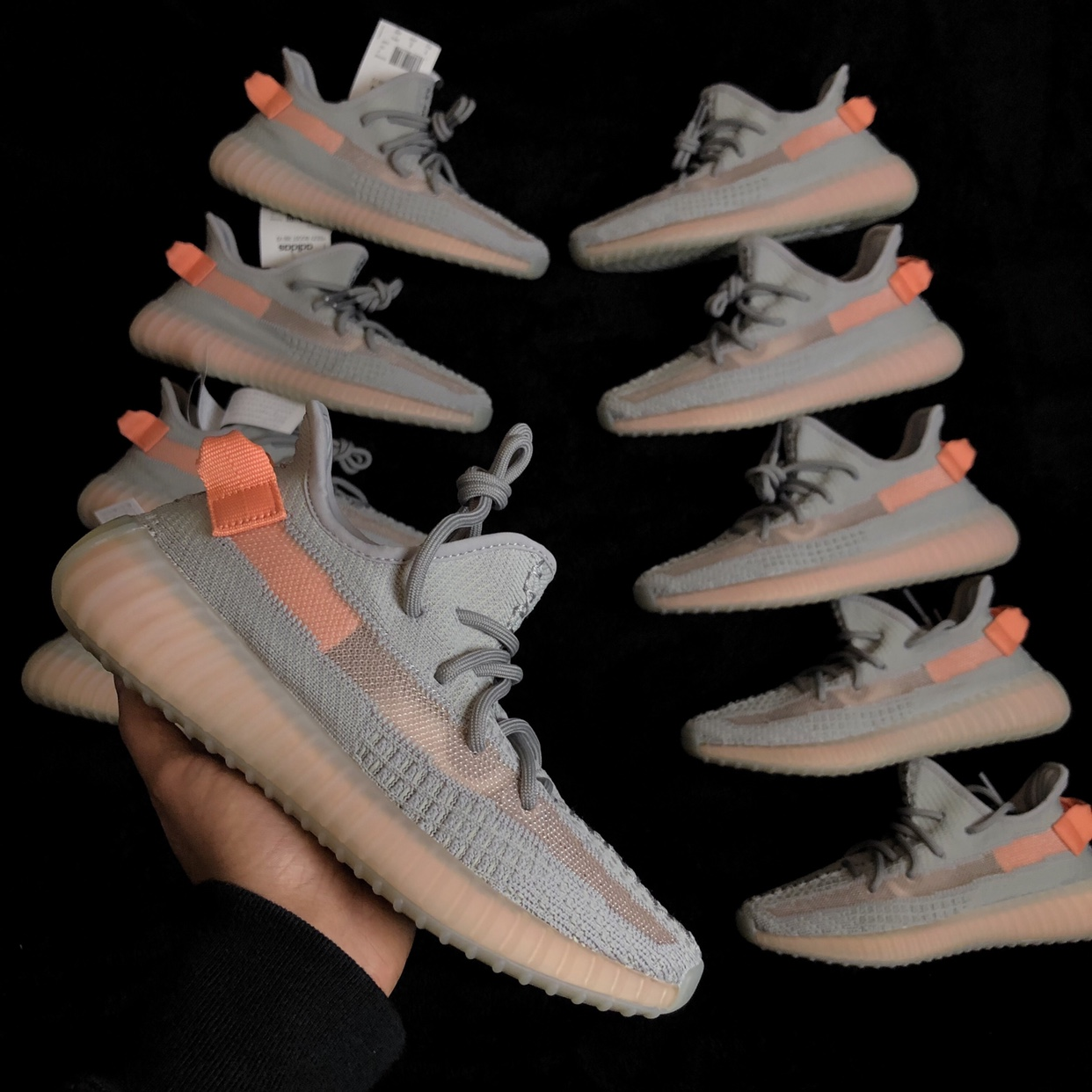 Details about Adidas Yeezy Boost 350 V2 True Form TRFRM UK 8 Brand New