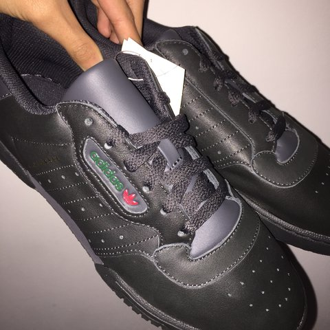 9a20829f64a Adidas Yeezy Powerphase Calabasas Core Black  • Brand New • - Depop