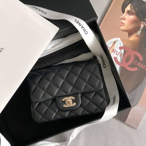 762c799198eb @haytamab. last year. London, UK. Chanel Mini Coco Square Bag 17cm ...