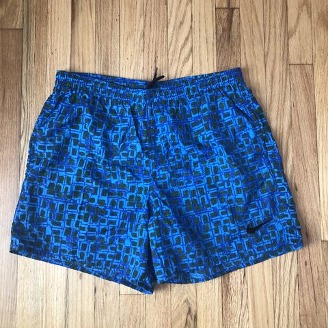 931e984bf2 @esmermaid. last year. Whittier, United States. Men's Vintage Nike swim  trunks 🌊 in great condition 🌊 size XL ...