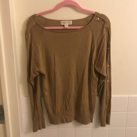 a41dee01ca711 Michael Kors sweater with studs down the sleeves. Only worn - Depop