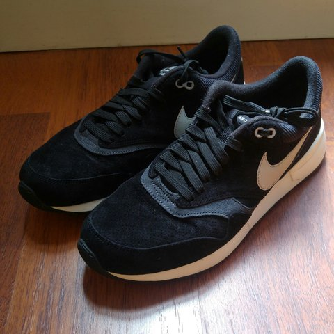 fff729ca07b5c Nike Air Odyssey Black UK 8 9 10 condition Please feel free - Depop
