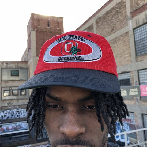 b11451ca224c7 ... coupon for vintage ohio state buckeyes corduroy snapback hat condition  depop 86085 bc137 ...
