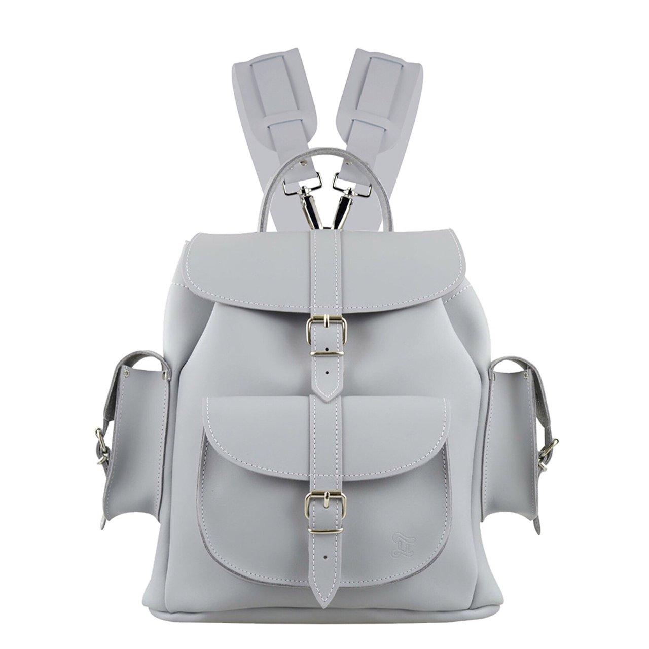 1b8d2032ed Misty leather backpack from Grafea Dove grey 100% in had a - Depop