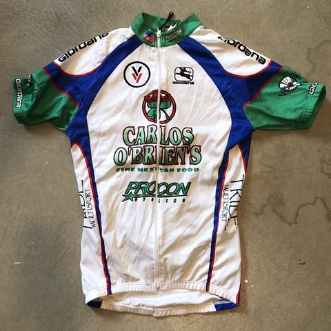 513849b35 Vintage late 90s early 00s cycling jersey. Tagged men s xs