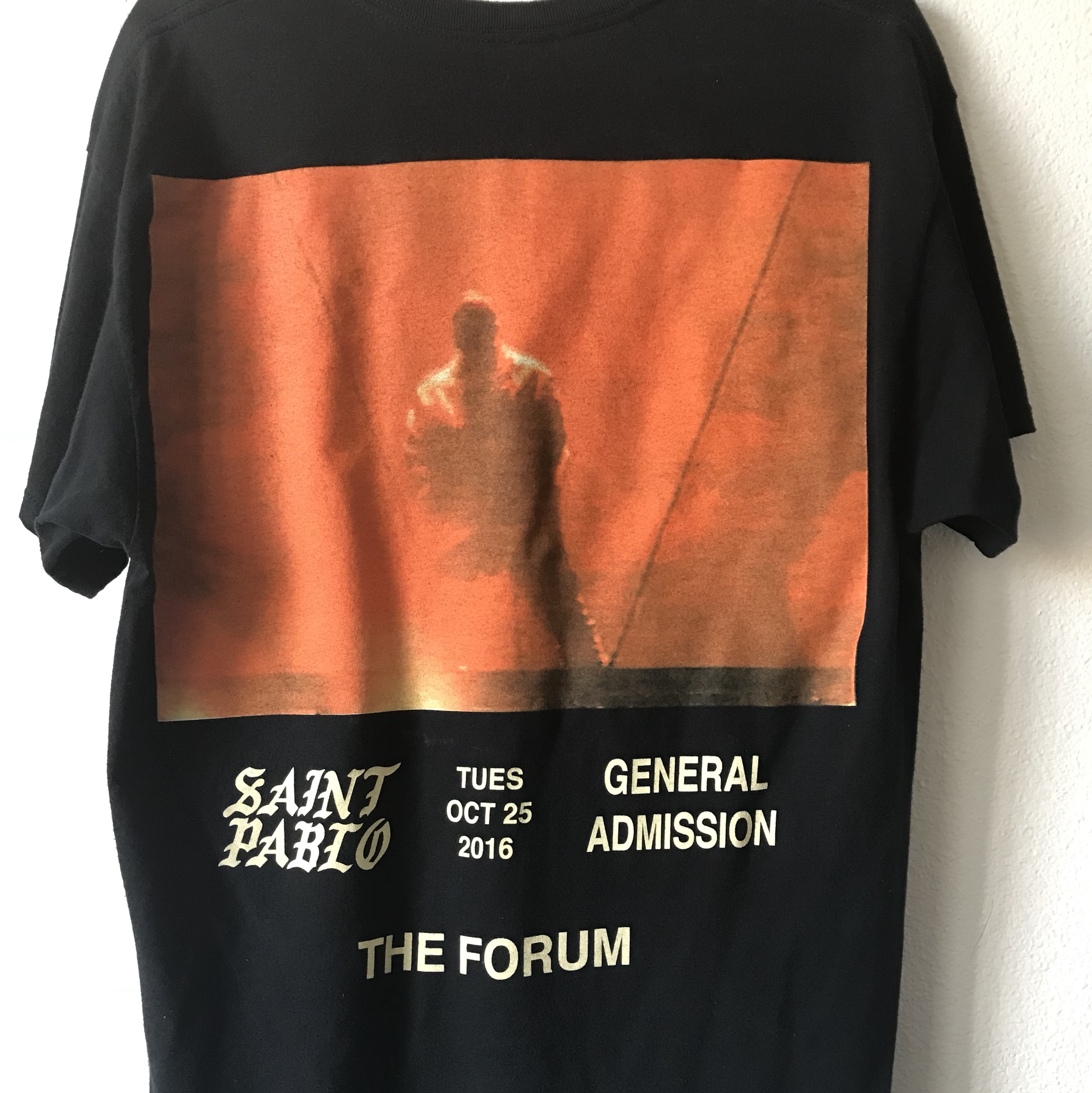 Kanye merch from tour date 10/25/16  I went and    - Depop