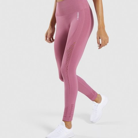 7c23350bc052a @cerysrhian. 3 months ago. Cwmbran, United Kingdom. Dusky pink gymshark  energy seamless leggings. Perfect condition apart ...
