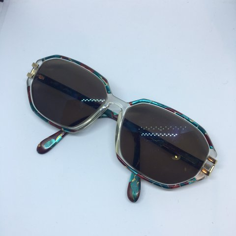 a4c0df741bf Silhouette Sunglasses Slightly clear frame with coloured be - Depop