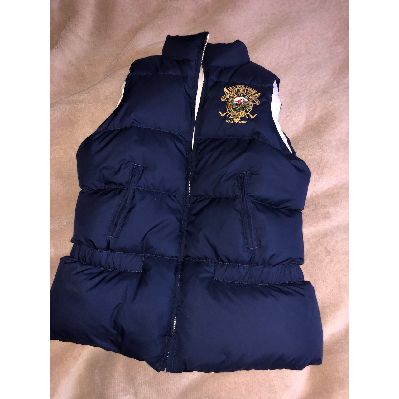 df96057812 Ralph Lauren bodywarmer gilet gillet jacket coat Absolutely perfect  condition Reversible-
