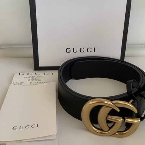 83c34f0a7134 @iman_afghani. last month. Lucas, United States. authentic gucci marmont  belt