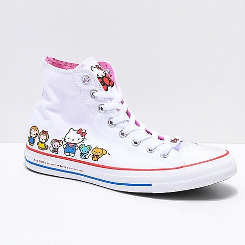 3492d3cf1 @tirzafucile. 5 months ago. Wilmington, United States. ON HOLD DO NOT BUY Hello  Kitty x Converse limited edition high tops.