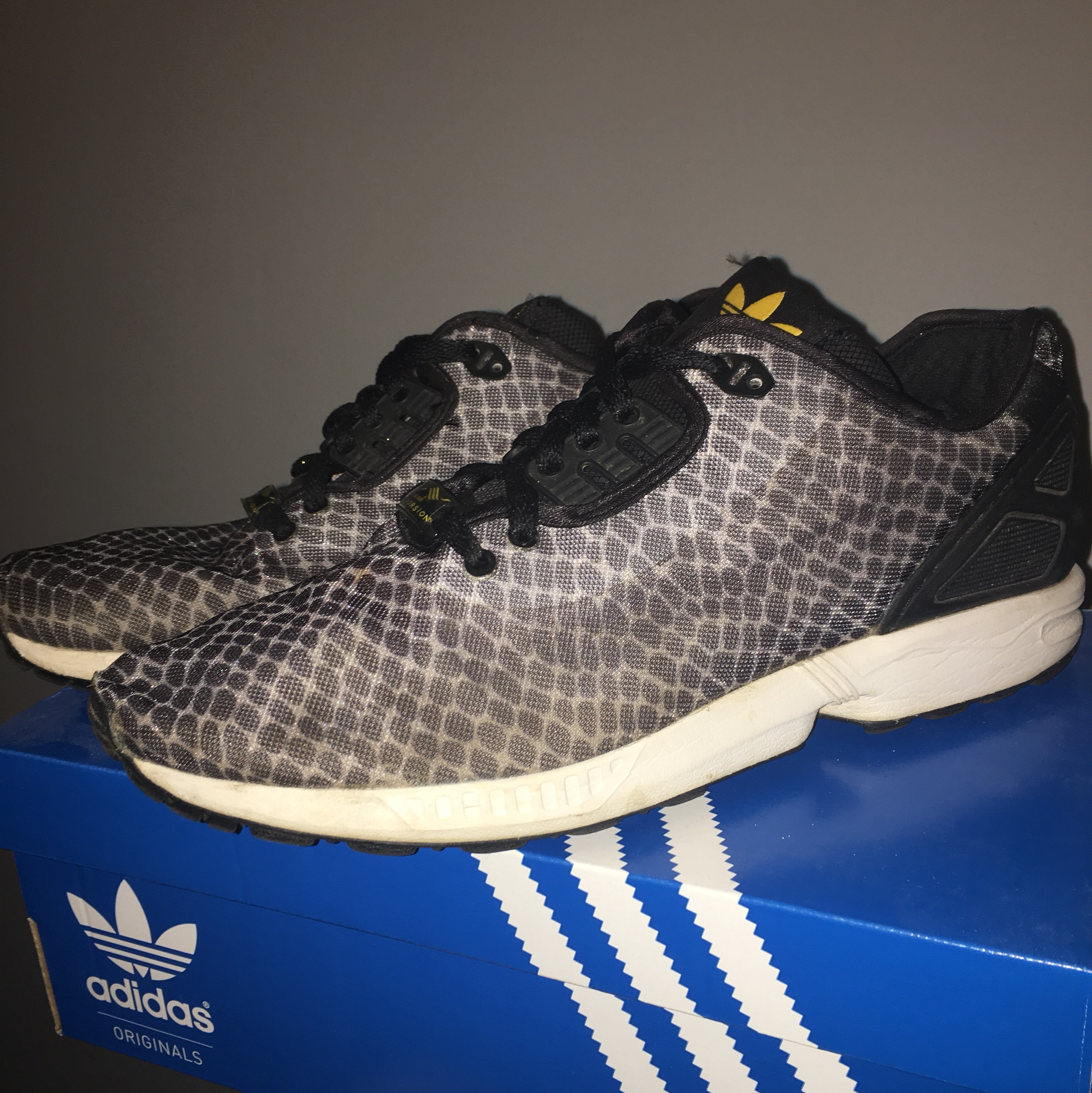 online retailer 6a408 803f6 Adidas ZX Flux Torsion Limited Edition Trainers... - Depop