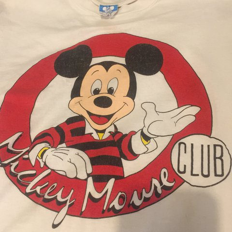 Mickey mouse club t shirt vintage