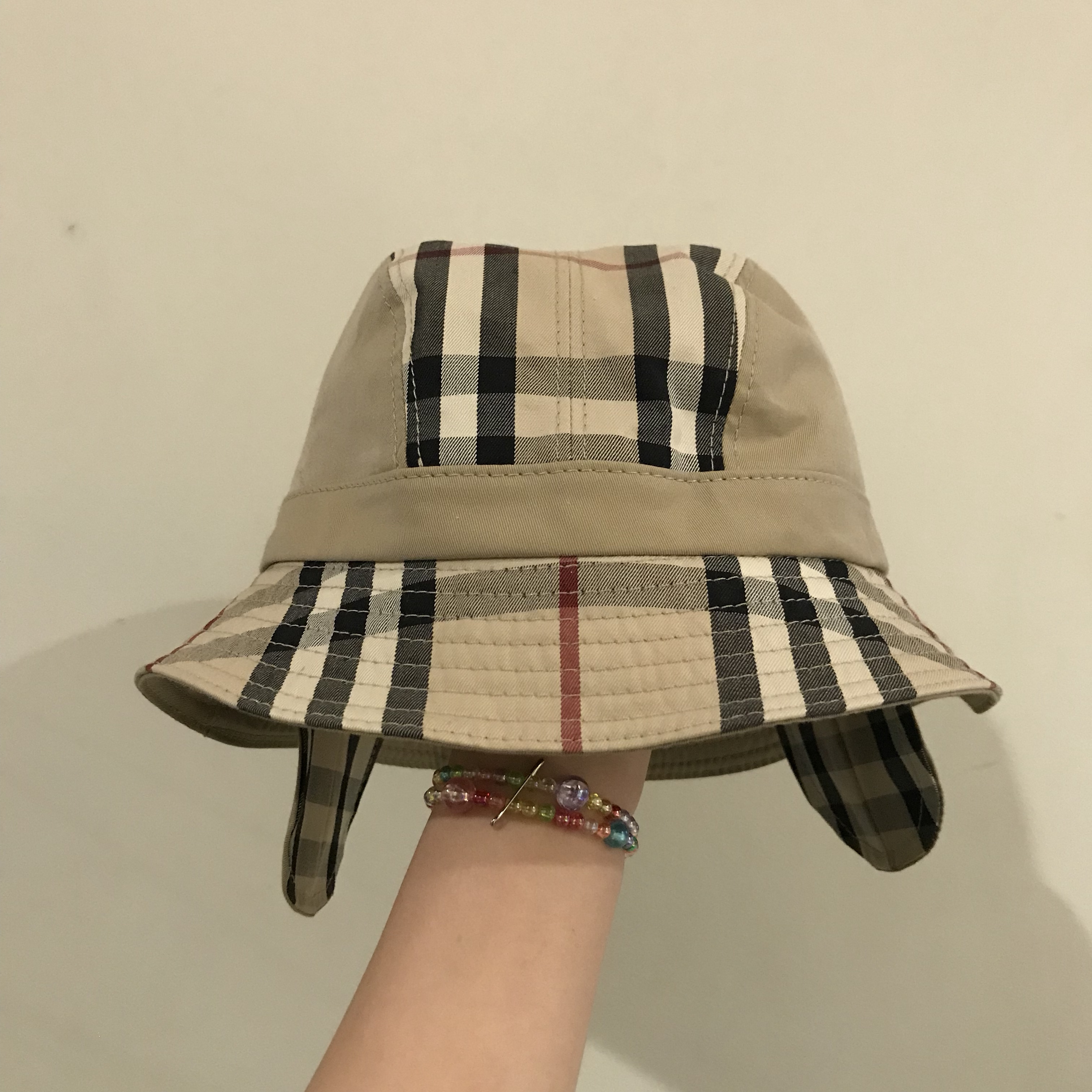 187247335 Gosha Rubchinskiy x Burberry bucket hat, colour:... - Depop