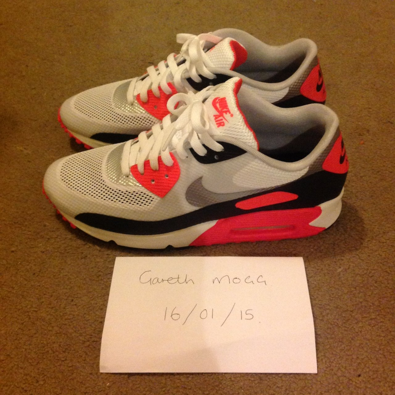 on sale 1d0a0 29777 ... DS-NIKE-2011-SAMPLE-AIR-MAX-90-HYPERFUSE-  size 40 594d9 116fe  gazza597. 4 years ago. Nelson, Caerphilly, UK.
