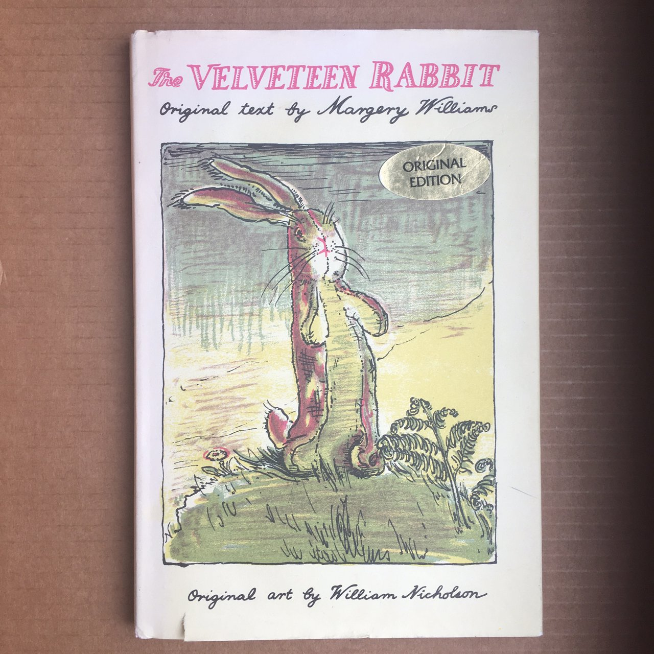 the velveteen rabbit complete text williams margery nicholson william