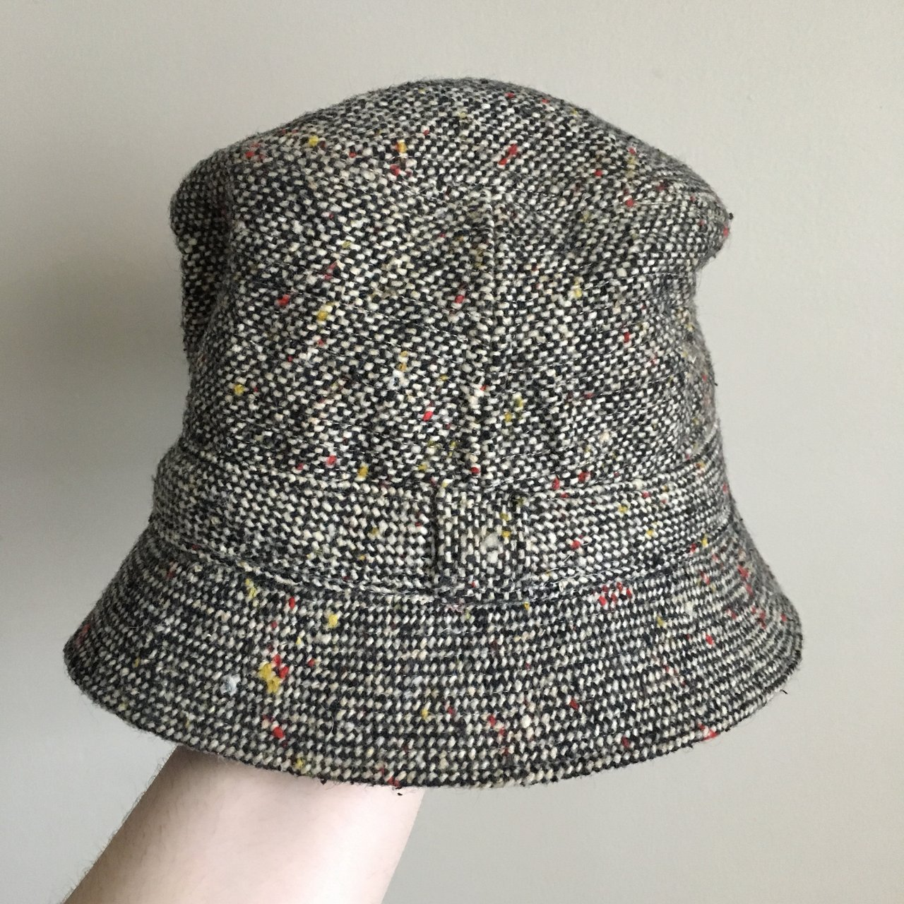 7657d8b9 Vintage, The Irish Walking Hat, tag reads: Union Made. Size - Depop