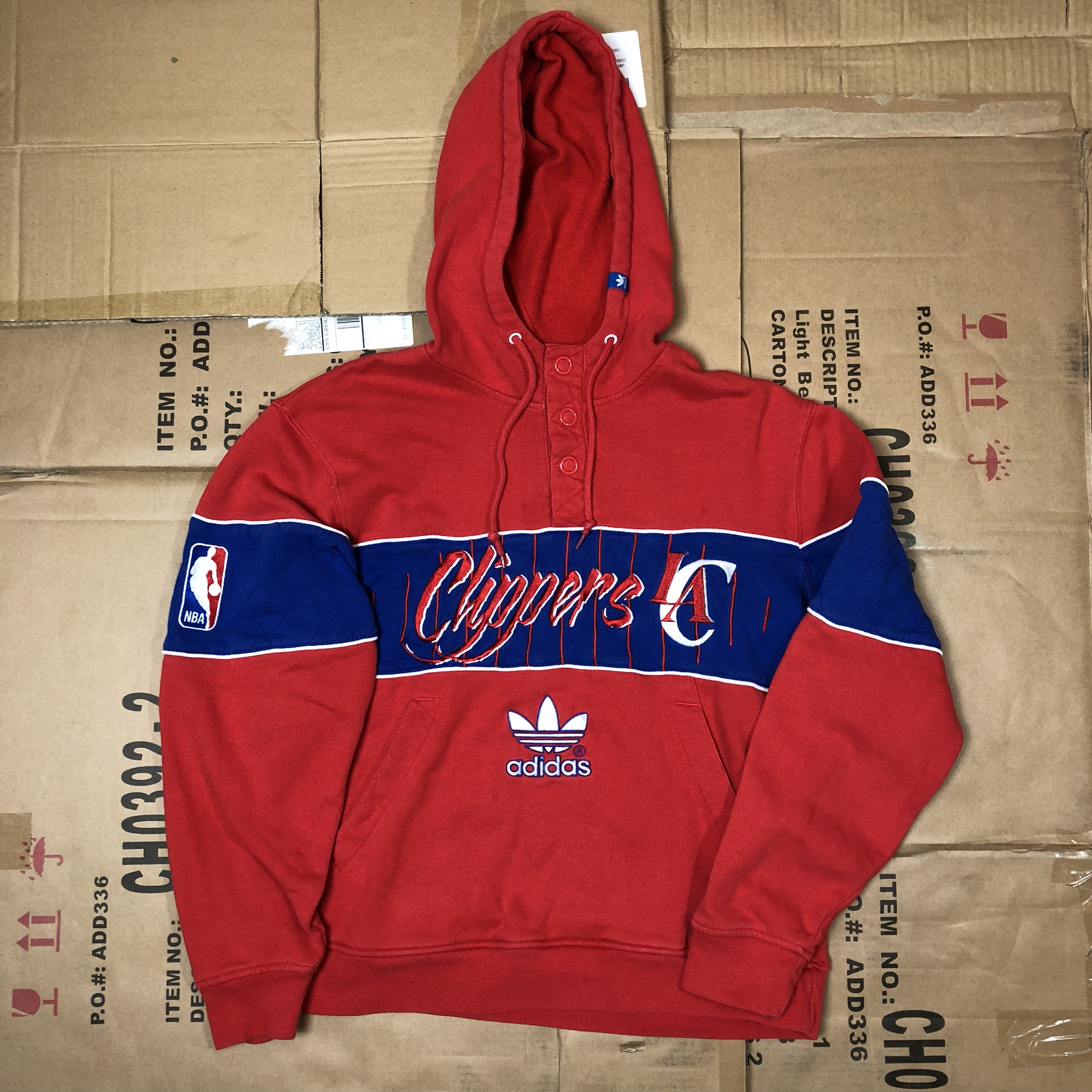 Clippers Offers Adidas Hoodie M Nba Size All Depop La R5Ljqc4A3