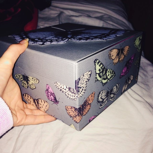 Adorable butterfly Paperchase box. Could- 0