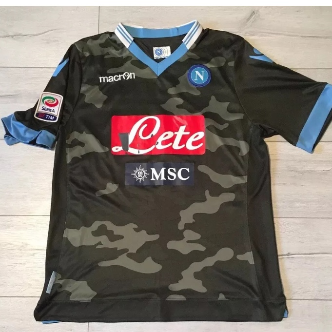Very Rare Napoli Football Soccer 3rd Away Kit Depop
