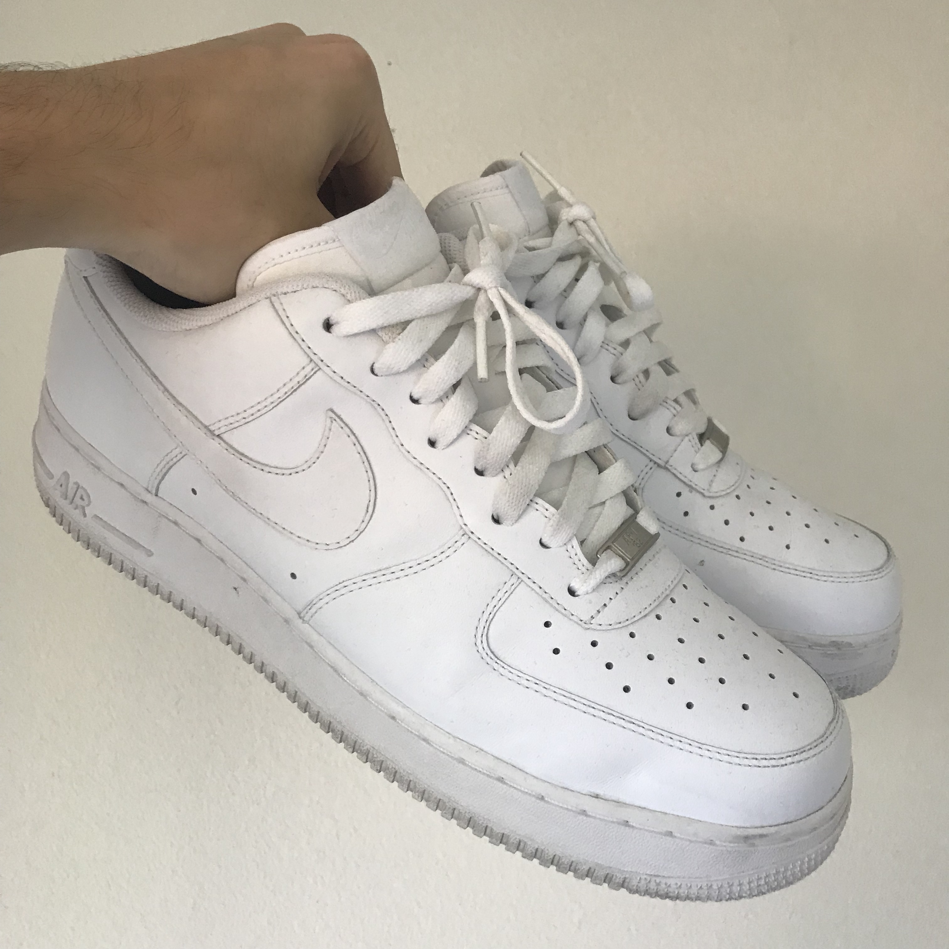 NIKE AF1 // Air Force 1 white size: 12