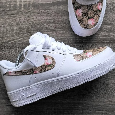 eeb043a17a6 THESE ARE CUSTOM! Gucci X Nike custom. Shoes are newly then - Depop