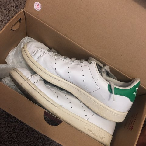 worn out stan smith adidas shoes they